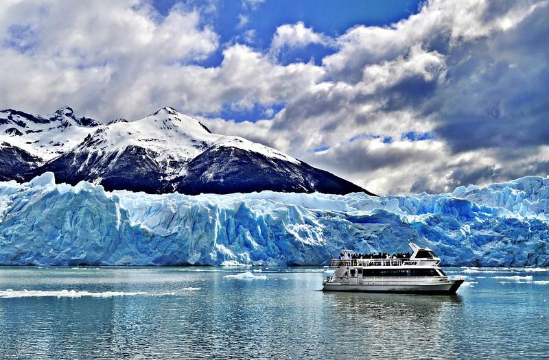 Visitando os glaciares