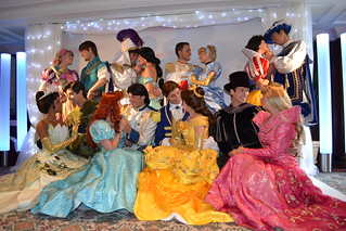 Meeting the Disney Princesses and Princes at the Princess and Pirates Breakfast at the Disneyland Hotel's Founder's Club | by Castles, Capes & Clones