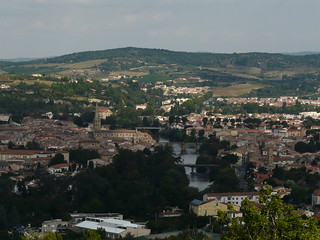 View of Limoux from above