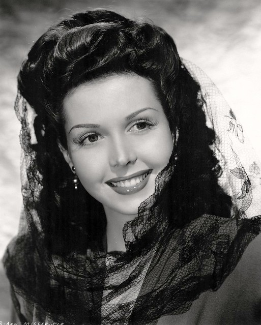 Ann Miller, ca. 1944 - a photo on Flickriver