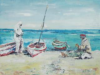 Na plaży w Tunezji | by mal-art