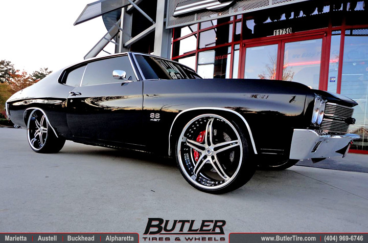 1970 Chevy Chevelle SS with 22in Asanti AF144 Wheels | Flickr