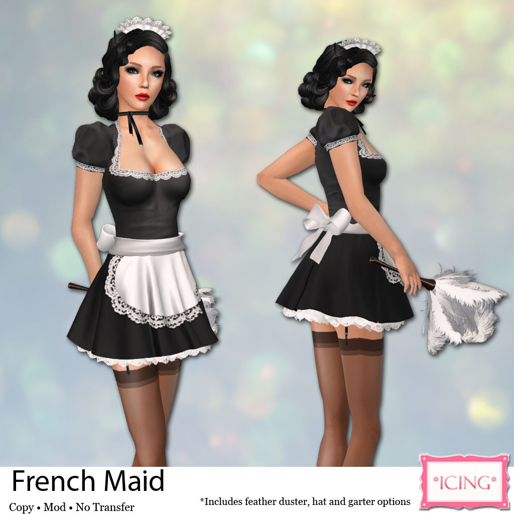 Icing French Maid Ad This French Maid S Outfit