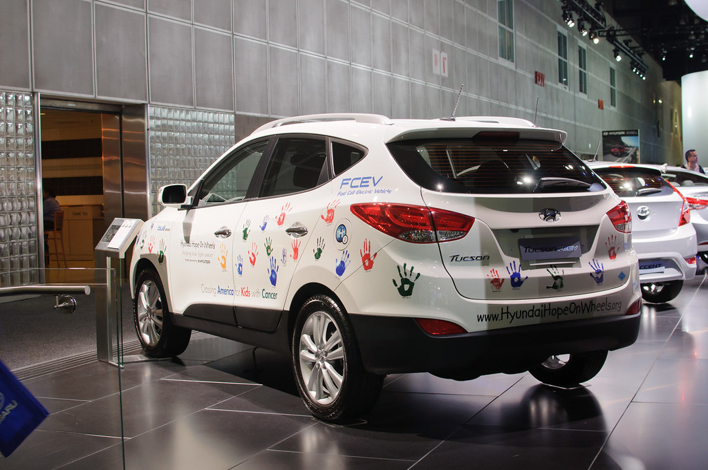 Hyundai Tucson Fuel Cell Electric (Korea Domestic, prototy… | Flickr