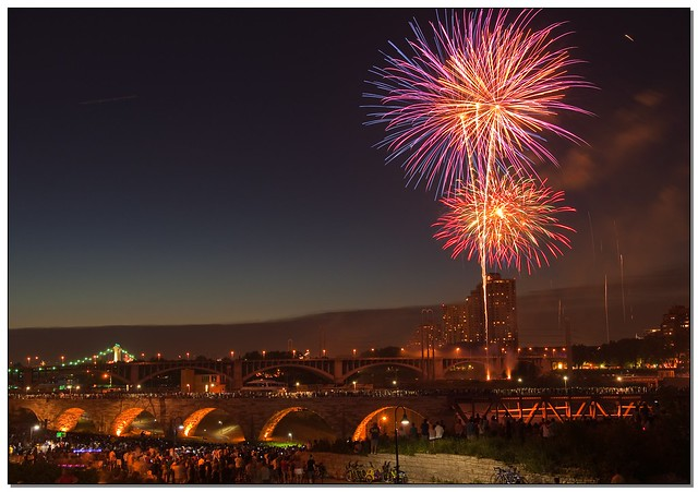 July 4th Fireworks - Minneapolis