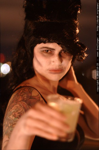 zombie amy winehouse drinking a margarita - _MG_5655 | by sean dreilinger