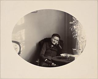 Portrett av Camilla Collett, 1893 | by National Library of Norway