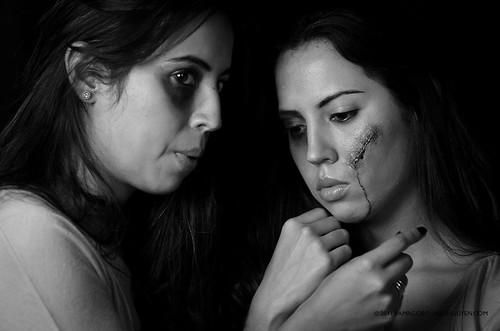 Domestic Violence Awareness photoshoot