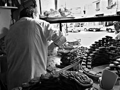 Makrout shop - Kenchela, Algeria