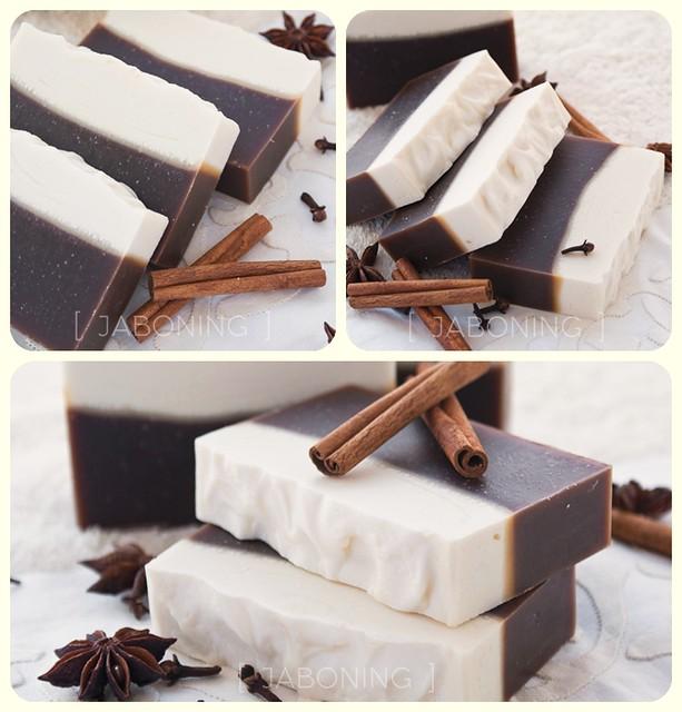 New cinnamon & clove bud soap