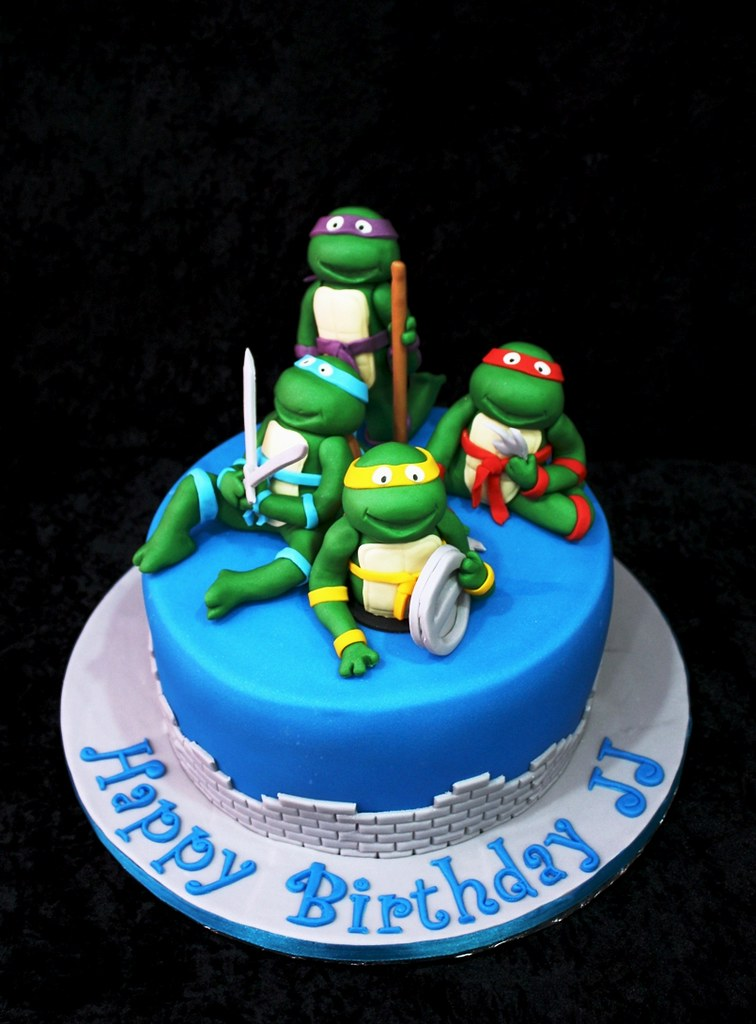 Ninja Turtles Cake Irena Flickr
