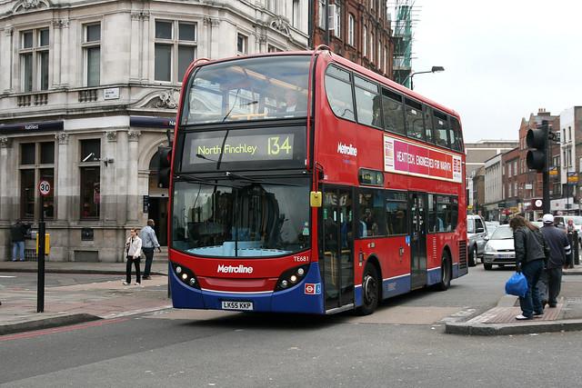 Metroline TE681 LK55KKP