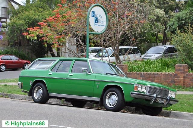 Classic 5 litre HZ Premier wagon