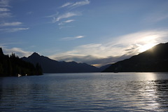 Trying to capture Lake Wakatipu at sunset
