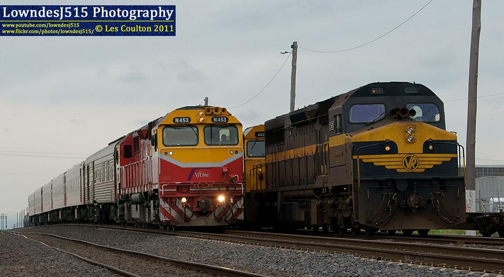 N453, 442s2 & C501 at McIntyre by LowndesJ515