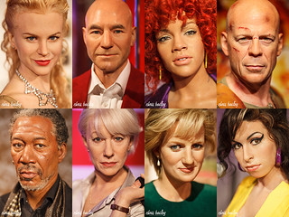 Madame Tussauds Portraits | by Chris Bailey Photographer