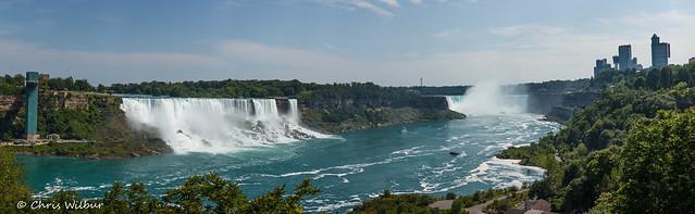 Niagara Falls Summer Panorama