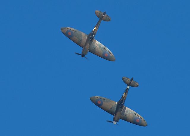 Two MK I Spitfires