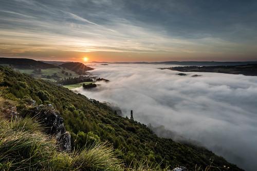 cloud sun weather set river landscape scotland nikon motorway unitedkingdom dundee hill tay perth gb inversion rise f4 1635mm sills d810