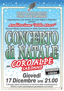 concerto di Natale 2015 | by Coro Alpe di Saronno