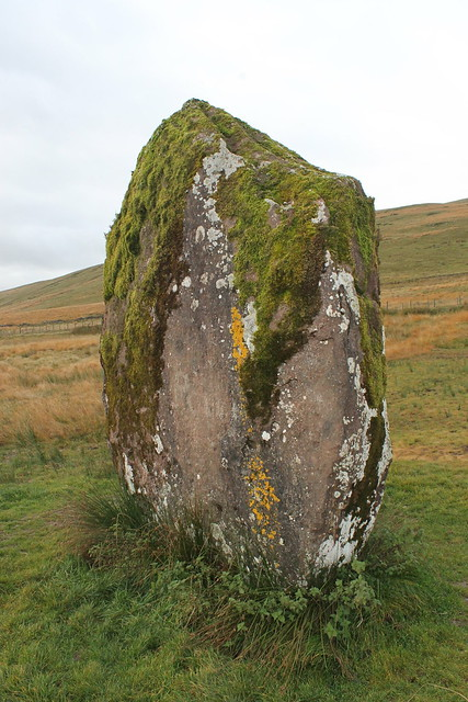 Wales 2015: Brecon Beacons, Standing Stone (Menhir) Maen Llia