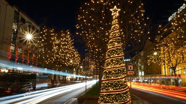 Weihnachten in Berlin (Kurfürstendamm), Germany