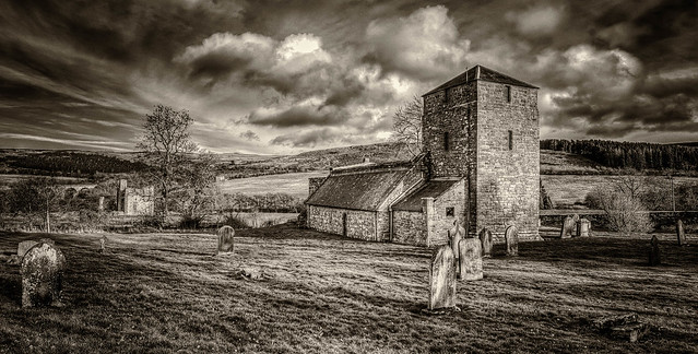 St. John The Baptist and Edlingham Castle