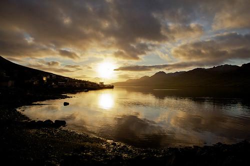 morning reflection sunrise iceland ísland speglun morgunn sólarupprás fáskrúðsfjörður faskrudsfjordur jónínaguðrúnóskarsdóttir