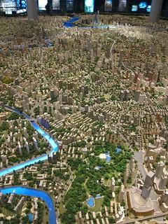 Model in Shanghai Planning Museum | by jetsetwhitetrash