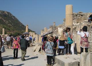 Ephesus Tourists | by rezansky