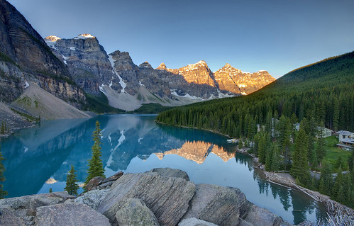 Sunrise on Lake Moraine | by Fil.ippo