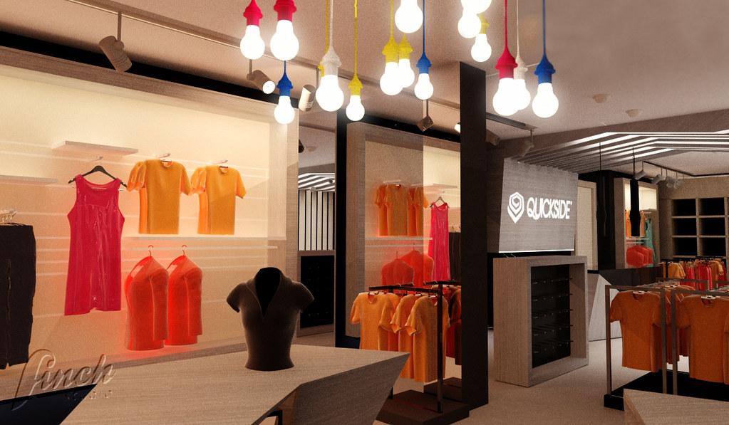 Super aranżacja wnętrza sklepu odzieżowego | Więcej o projekcie/ M… | Flickr HY33