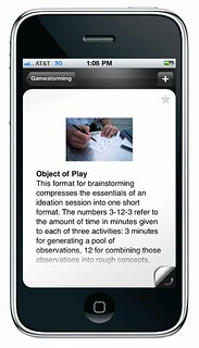 Gamestorming iPhone app | by dgray_xplane