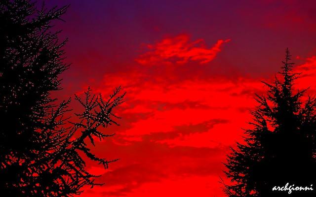 all'alba quando spunta il sole ...
