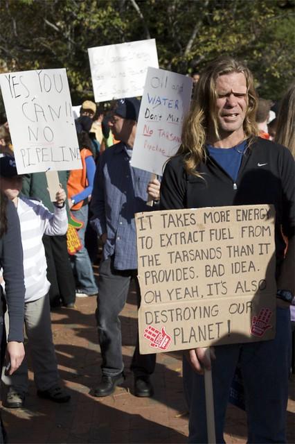 TransCanada Keystone XL Pipeline Protest