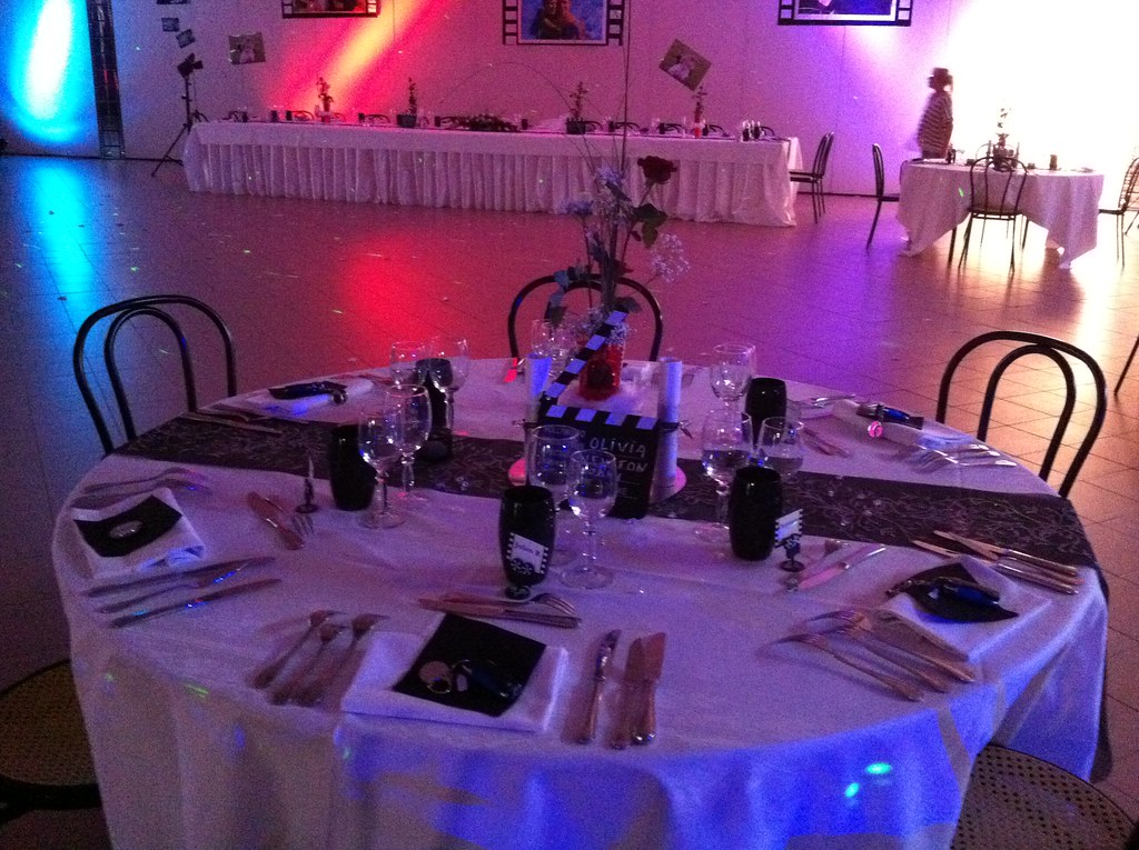 Decoration Salle Mariage Theme Cinema Decorations De Table Flickr