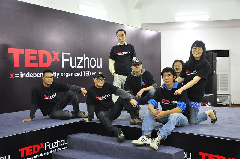 志愿者合照 TEDxFuzhou Team