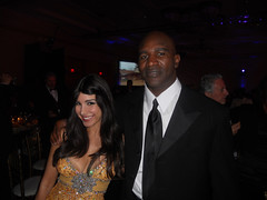 Evander Holyfield +Mayra Veronica - Fight Night