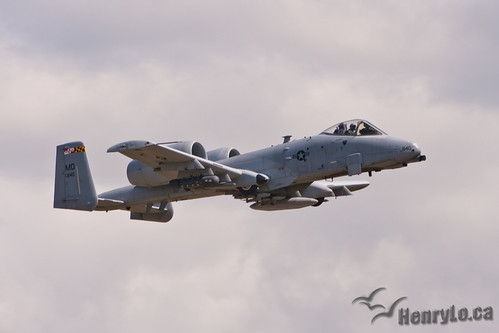 A-10 Thunderbolt II   by Henry_Lo