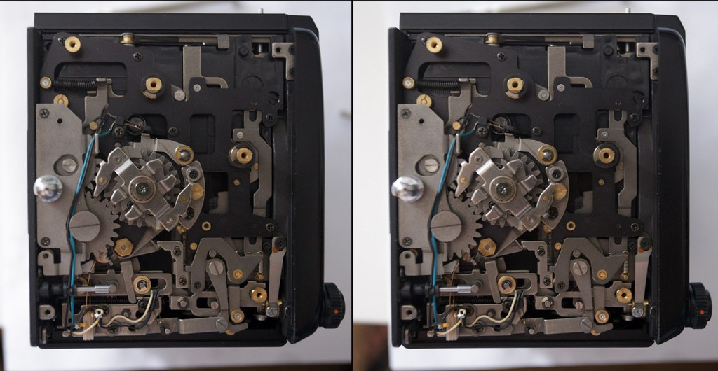 Parallel Stereo Pair Bronica Sq Ai Right Sight Parts Fix D Flickr