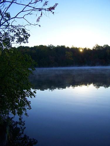 park lake green sunrise state over lakes greenlake andyarthur