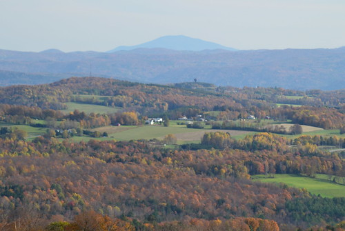 park autumn trees white mountains color green tower fall leaves forest fire vermont state farm panoramic mount views brookfield dairy vt ascutney allis