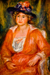 Pierre Auguste Renoir - Portrait de Femme Assise at Louvre Museum Paris France | by mbell1975