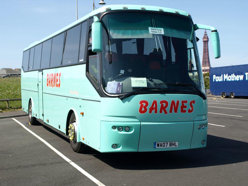 Barnes Coaches, Swindon, Bova WA07 BHL | Alistair | Flickr