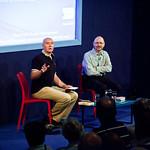 James Robertson with Irvine Welsh | James Robertson chats with Irvine Welsh