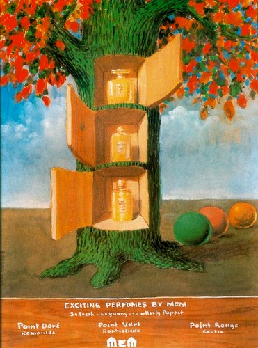 Magritte.Exciting perfumes by Mem | by El ladron de Bagdad