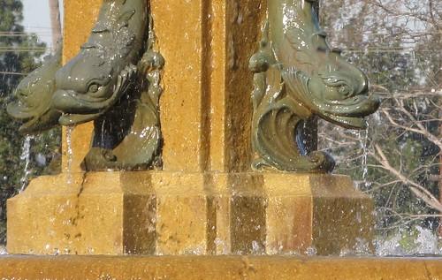 Three Fish in a Fountain
