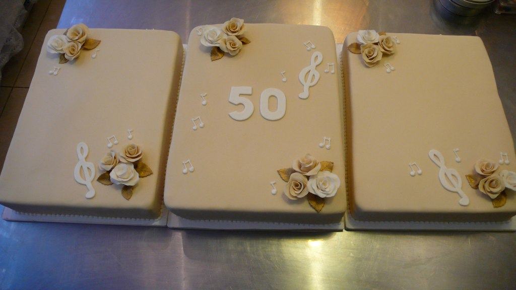 Awesome 50Th Birthday Cakes 50Th Birthday Cake For A Classical Sin Flickr Funny Birthday Cards Online Barepcheapnameinfo