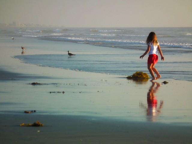 The Little Beach-girl