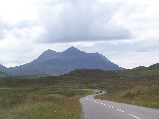 Mountain Splendour, A 835, Ledmore Junction